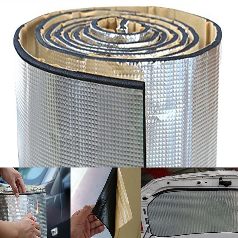7mm 1 1 4m 55 1 39 4 Self Adhesive Car Road Noise Dampener Sound Deadener