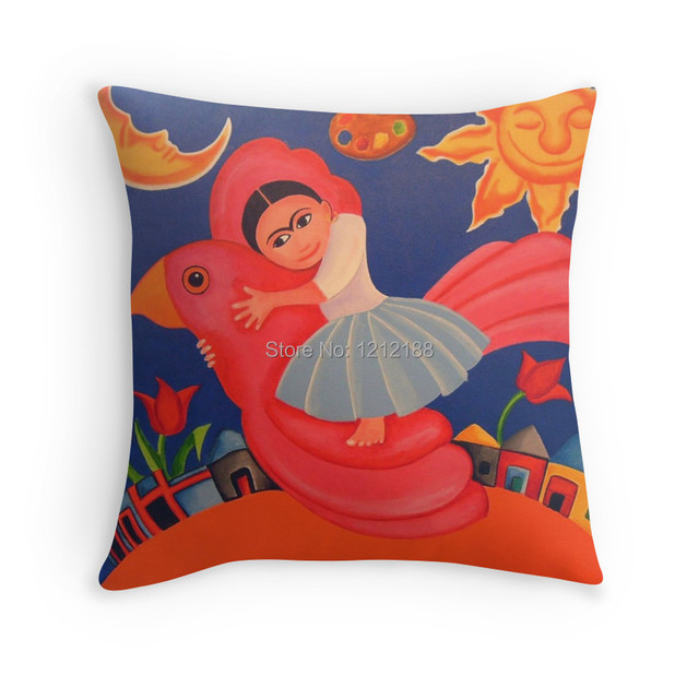 Free Shipping Frida's Flight Decorative Pillow Case 40 40 40 40 Inch Fascinating 24 Inch Decorative Pillow Covers