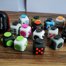 Fidget cube decompression resistant to pressure pressure anti stress puzzle toys cubo magico creative gifts magnetic balls
