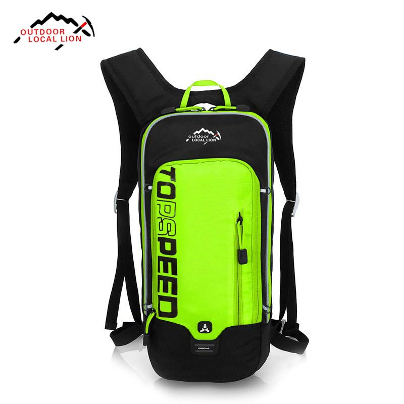 LOCAL LION 5L Waterproof Bicycle Backpack Outdoor Travel Mountain Backpack Hiking Sport 2L Hydration Climbing Bag 5 Colors