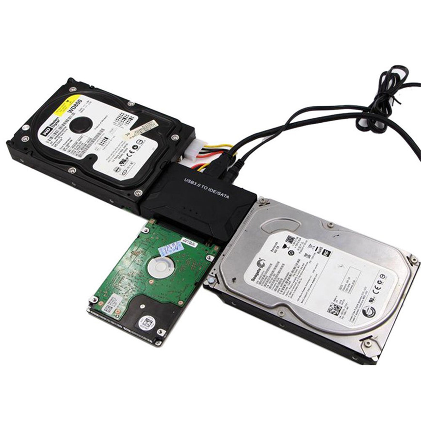 USB3.0 to IDE / SATA Converter USB IDE SATA Adapter Hard Drive SATA to USB 3.0 DATA Transfer US jun22 2017 universal usb 3 0 2 0 to hdd sata ide adapter converter cable h speed transfer h3t5