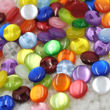 50 pcs Cats Eye button craft/sewing/baby lot mix PT82
