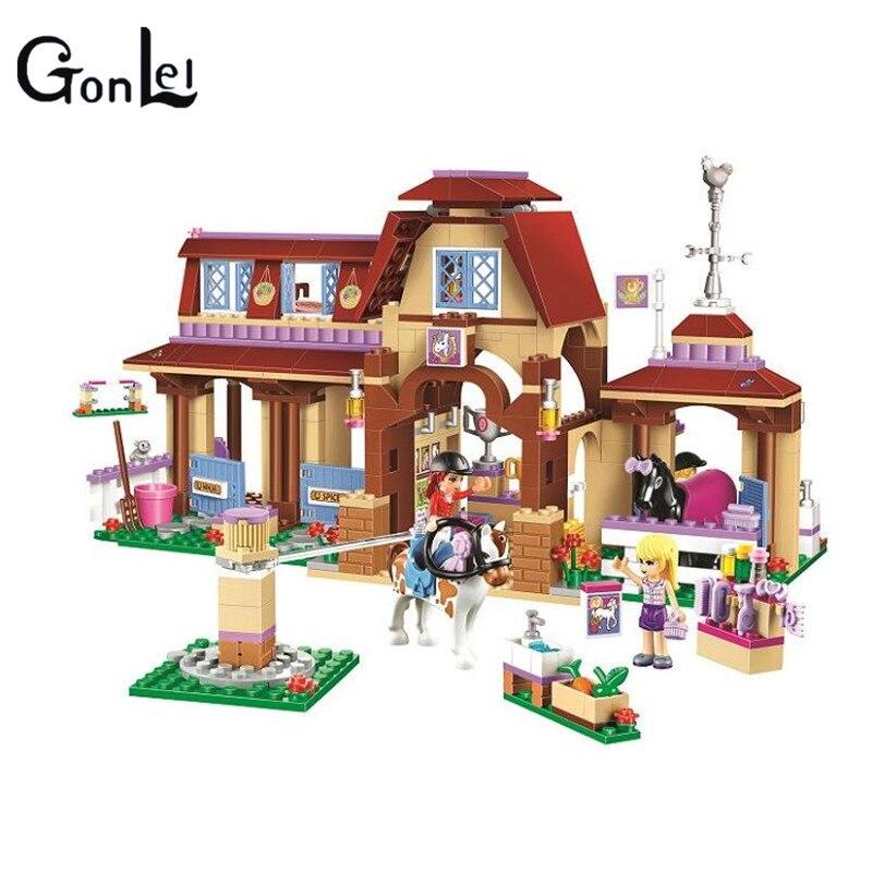 Gonlei 2017 Бела 10562 друзья 594 шт. heartlake Mia домашнее животное show модель строительные блоки комплект кирпичи развивающие игрушки подарки