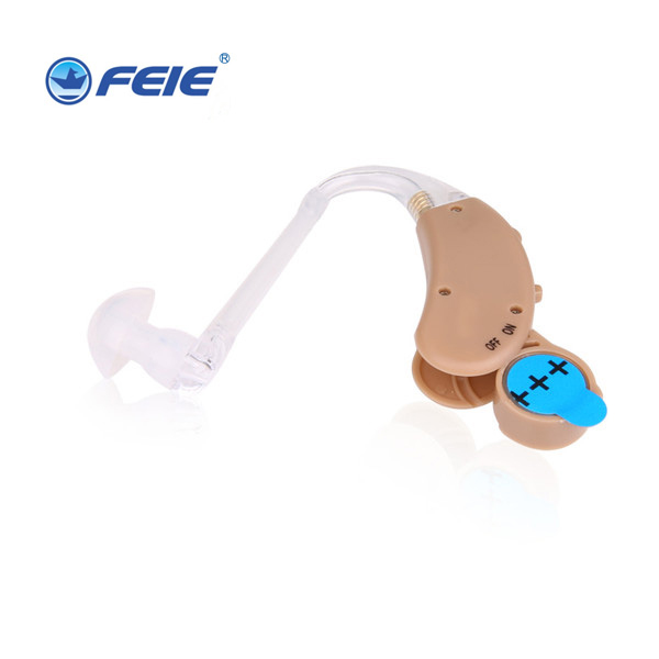 behind the ear Binaural Hearing Aid Ear Sound Amplifier Elderly Deafness Hearing Aids Adjustable Hearing Amplifier Device S-268 купить в Москве 2019