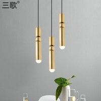 Nordic design lampe führte anhänger licht wohnzimmer dekoration suspension leuchte lampenschirm küche/nacht lustre leuchte-in Pendelleuchten aus Licht & Beleuchtung bei