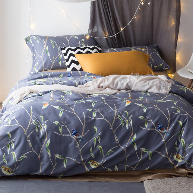 Superieur 100% Egyptian Cotton Bedding Sets Luxury Bed Sheet Set Gift Adult Bedding  Set Queen/