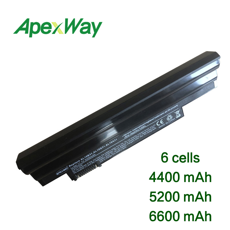 11.1v 6cells Laptop Battery For Acer  D255 AOD255 D260 D260-2919 D270 AL10B31 AL10A31 AL10G31 LC.BTP0A.019 D255-1134