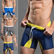 2017 Mens Summer Board Shorts Compression Trunks Boxer Sweat Shorts Bodybuilding Slim Fitness Swimwear Beach Shorts