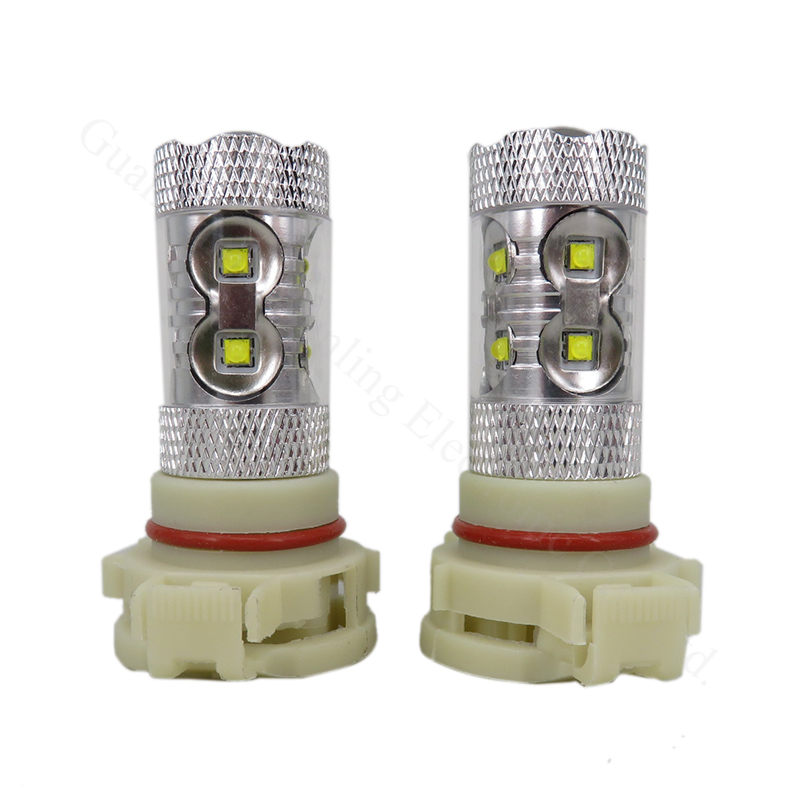 LEVOU Chip DRL Driving Fog Lâmpada Lâmpada luz 1000lm 10 v-30 v