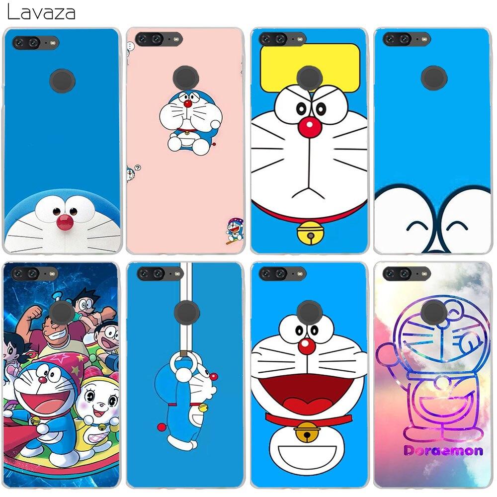 Lavaza Doraemon Case for Huawei Honor 10 9 8 7x 6a 6c Lite Nova 2i y6 2017