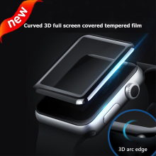 3D Full Coverage Tempered Glass For apple watch 40/44mm Cover Curved Edge Screen Protector accessories iWatch series 4