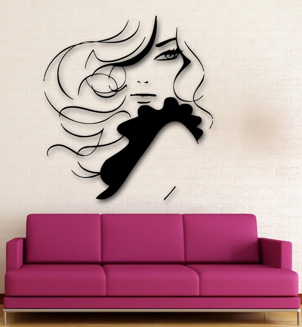 Compare prices on style beauty salon online shopping buy for Dibujos para paredes de salon