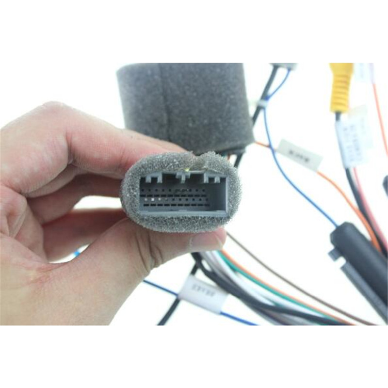 US $49 99 |Joying wiring ISO harness for Honda HCRV car radio power adaptor  power cable radio plug-in Cables, Adapters & Sockets from Automobiles &