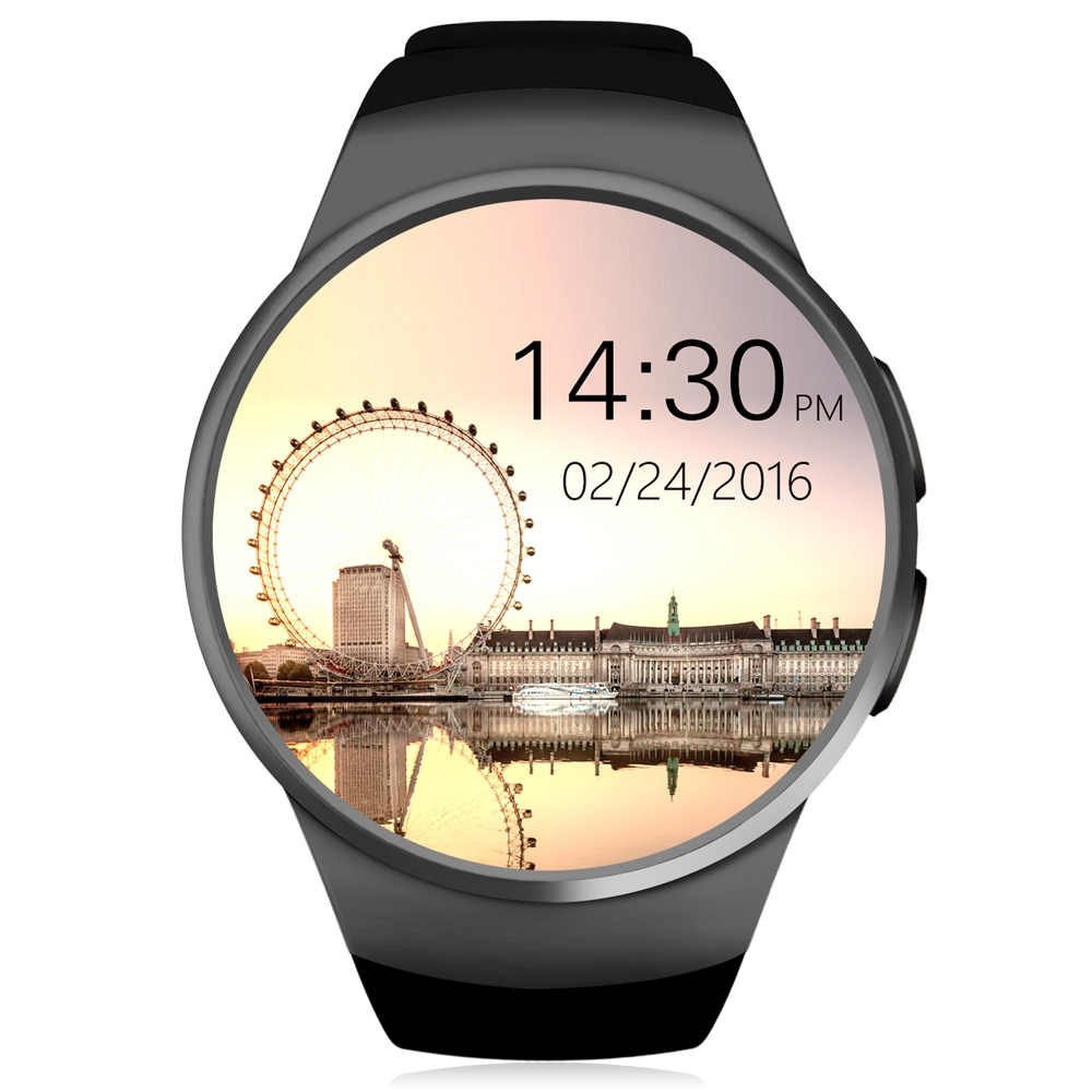 2017 Original KW18 Bluetooth Smart Watch full Screen Support SIM TF Card Smartwatch Phone Heart Rate Minitor For Android IOS zaoyiexport l6 bluetooth smart watch support sim tf card hebrew language smartwatch for iphone xiaomi android phone pk dz09 gt08
