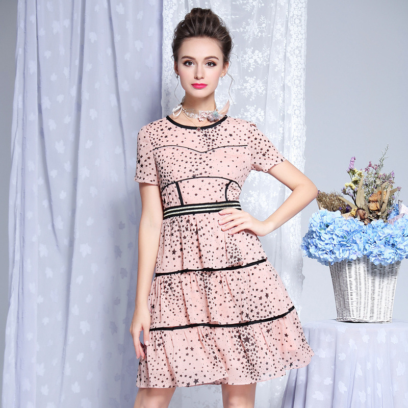 Buy Tiered Dress Pattern And Get Free Shipping On Aliexpress