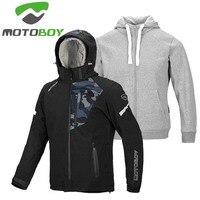 MOTOBOY waterproof men motocross jacket with Warm inner layer and CE armor,motobiker clothes moto coat M L XL 2XL
