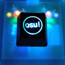 2 יח\אריזה תאורה אחורית OSU Keycaps עבור דובדבן מקלדת מכאנית עם תאורה אחורית מקלדת מפתח כובע