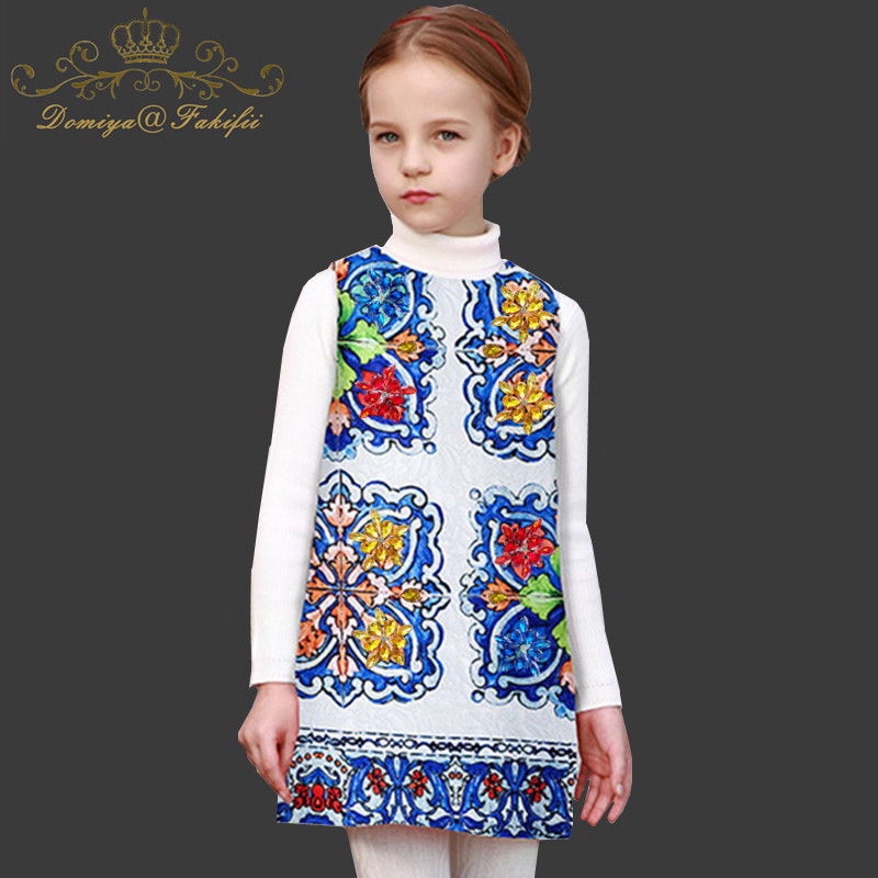 Toddler Girl Dresses 2018 Brand Children Crystal Dress Princess Costume for Kids Clothes Floral Robe Fille Christmas Dress Girl new year girl dress princess costume long sleeve christmas dresses red kids clothes flower bow robe fille children vestido 4 11y