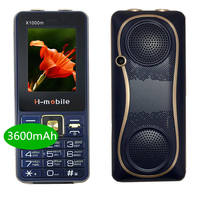 3600mAh power bank mobile phone 3 SIM mp3 bluetooth 2 torch china Cell Phones Shockproof Russian push button X1000m telephone