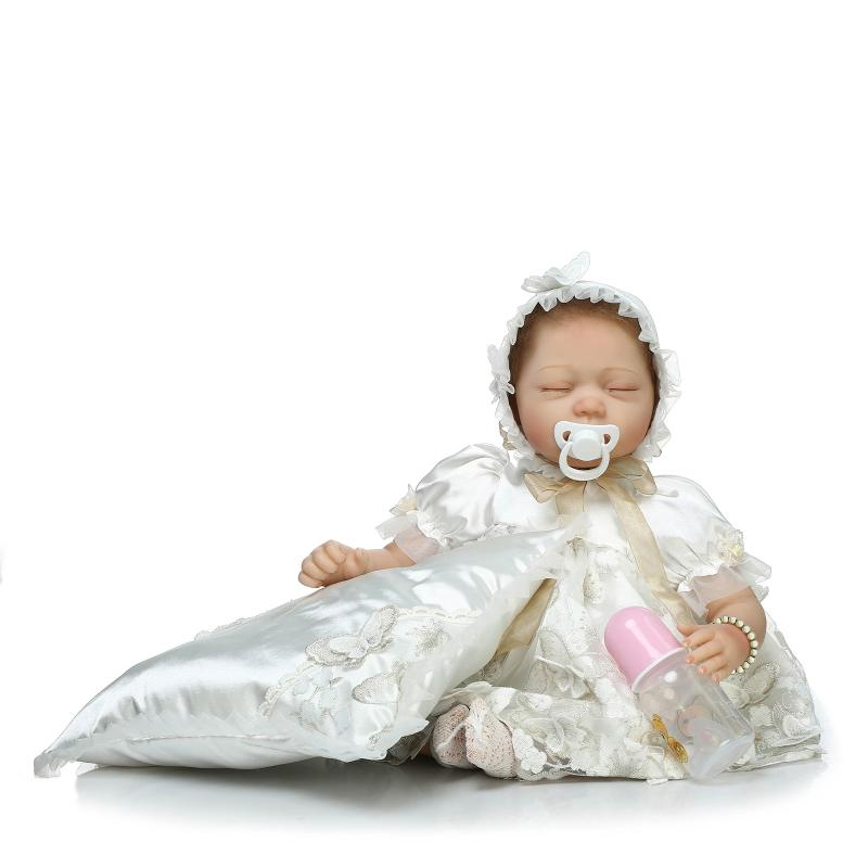 Fashion Doll Lifelike Reborn Baby Doll Movie Photography Props Doll Baby Toys Cute Doll for Children Birthday Gifts кукла 44271926101 usa berenguer reborn baby doll