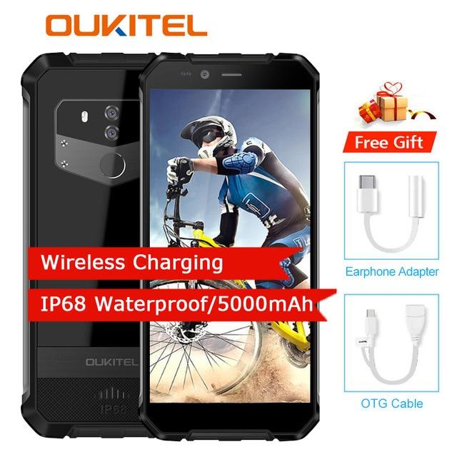 Oukitel Wp1 4gb 64gb Cell Phone Android 8 1 5 5 18 9 5000mah Mtk6763 Octa