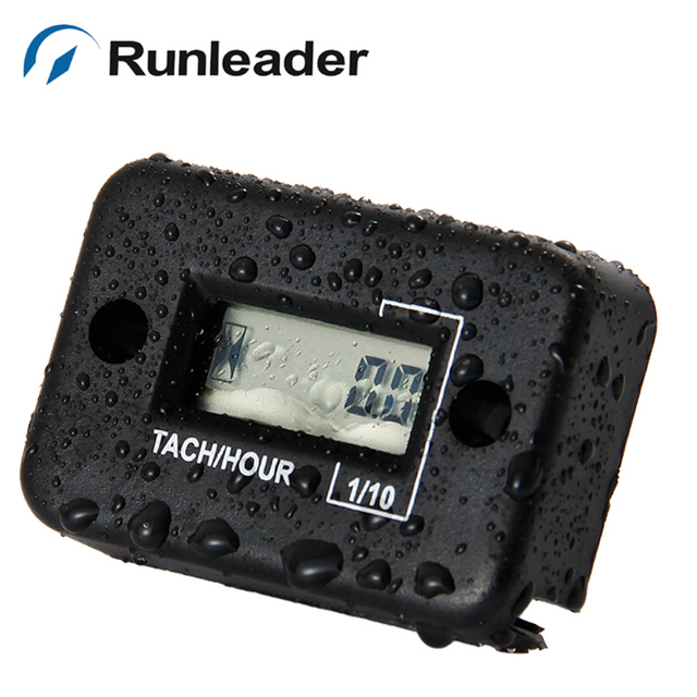 Runleader RL-HM012 Tach Hour Meter For all 2 stroke motor mower jet ski OHV engine generators tiller IP68