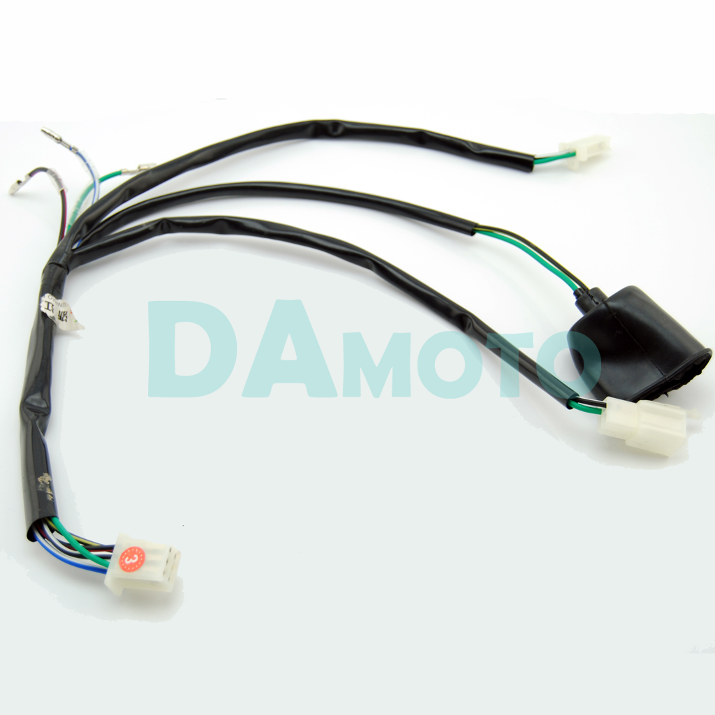 wiring harness loom for crf 50 70 110 klx ttr kick start pit dirt bike 125 140cc in atv parts accessories from automobiles motorcycles on aliexpress com  [ 1024 x 1024 Pixel ]