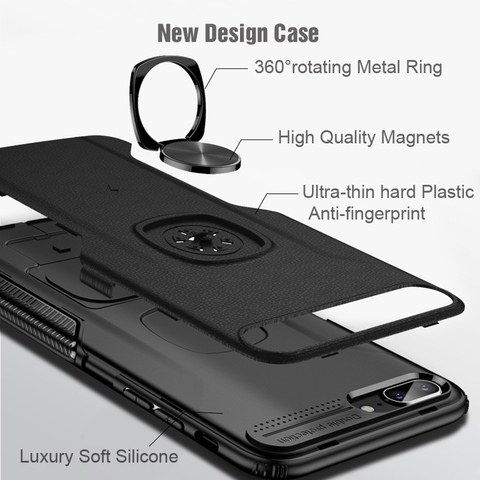 Shockproof Armor Case For Huawei Mate 20 Lite Finger Ring Holder Stand Magnetic Bracket Back Cover Huawei Mate20 Lite Case On Islamabad