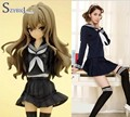 Free shipping Anime TIGER DRAGON Toradora Aisaka Taiga Cosplay Costume Blue Color full size