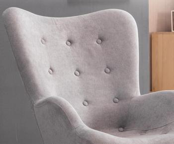 Mid Century Modern Relaxed Armchair 1