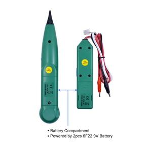 Image 4 - CHIPAL AIMO professionnel MS6812 LAN testeur de câbles réseau, traceur de fils téléphoniques pour UTP STP, Cat5 et Cat6