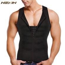 HEXIN corsé moldeador de cintura para hombre, corsé moldeador de cuerpo, cinturón para vientre, Correa adelgazante, ropa moldeadora de sudor para Fitness
