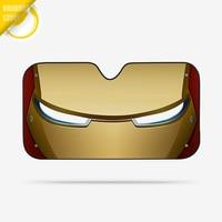 Iron Man Avenger Marvel Car Windshield Sunshade Windscreen Cover Solar Protection Auto Zonnescherm Parasole Parasol Coche