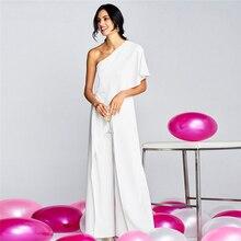 Women s Off Shoulder Bodycon Slim Elegant Jumpsuit Long Trouser Party Formal  High street Clubwear Wine Cocktail 7422e05d7cb7