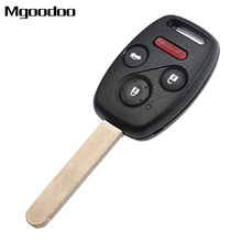3 Buttons With Panic Remote Car Key Fob Shell + ID46 Chip For Honda Civic 2006-2013 N5F-S0084A 35111-SVA-306 Remote Transmitters free shipping 1pcs new offer kd900 remote nb10 3 1 button remote key with nb xtt new honda model for 2013 2015 honda