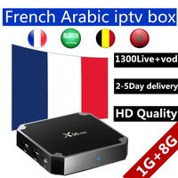 French Iptv Android Box Tv 7 1 X96 Mini Tv Box 1300 Live VOD Gift Support