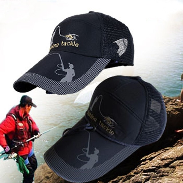 1565ccae913f8 Adult Men Adjustable Fishing Daiwa Japanese Sunshade Sport Baseball  Fishermen Hat Cap Black Special Bucket Hat With Letter dd06