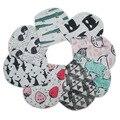 Impresión de la moda del sombrero del bebé chicas chicos cap gorros niño patrón de algodón cabritos de los sombreros gorras de ganchillo recién nacido accesorios de fotografía