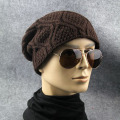 Fashion Winter Unisex beanie hats for Women Men Knitted Crochet Warm Caps Skullies Bonnet Twist Hats Chapeu touca feminina Y2