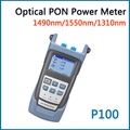 Perfect Quality Optical PON Power Meter DPT-P100  Used in CCTV & FTTx / FTTH  ONT / OLT 1310/1490/1550nm Li-battery Power Supply