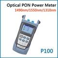 Qualidade perfeita Medidor de Potência Óptica PON DPT-P100 Utilizada em CFTV & FTTx/FTTH ONT/OLT 1310/1490/1550nm Li-a Energia da bateria fornecer