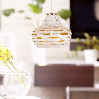 2016 creative novelty white Ply-Wood chips Chandelier handmade E27 indoor led lamp for bar&living room&corridor&pavilion BT291 2016 creative novelty blue shade ply wood chips chandelier e27 led floral lamp indoor lamp for stairs