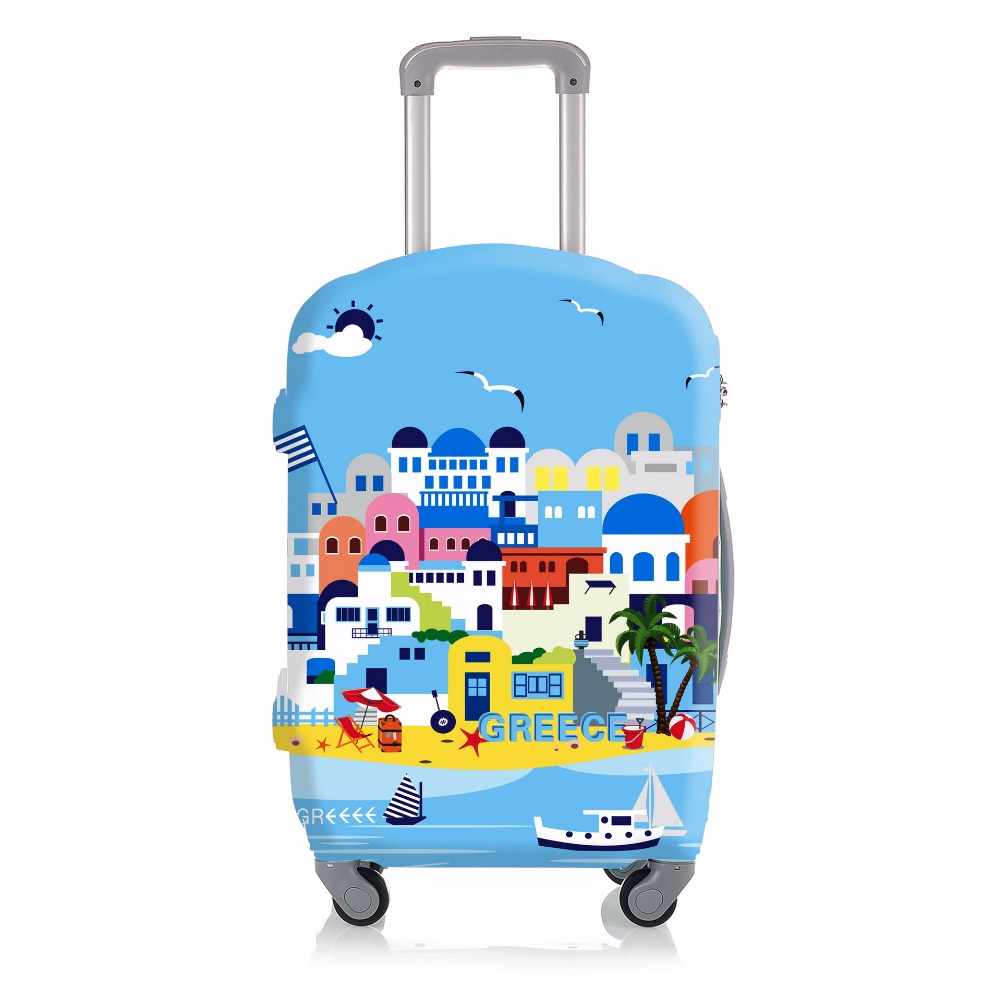 Elastic Coast Luggage Protective Cover For 20 to 30 inch Trolley Suitcase Protect Dust Bag Case Travel Accessories Supplies