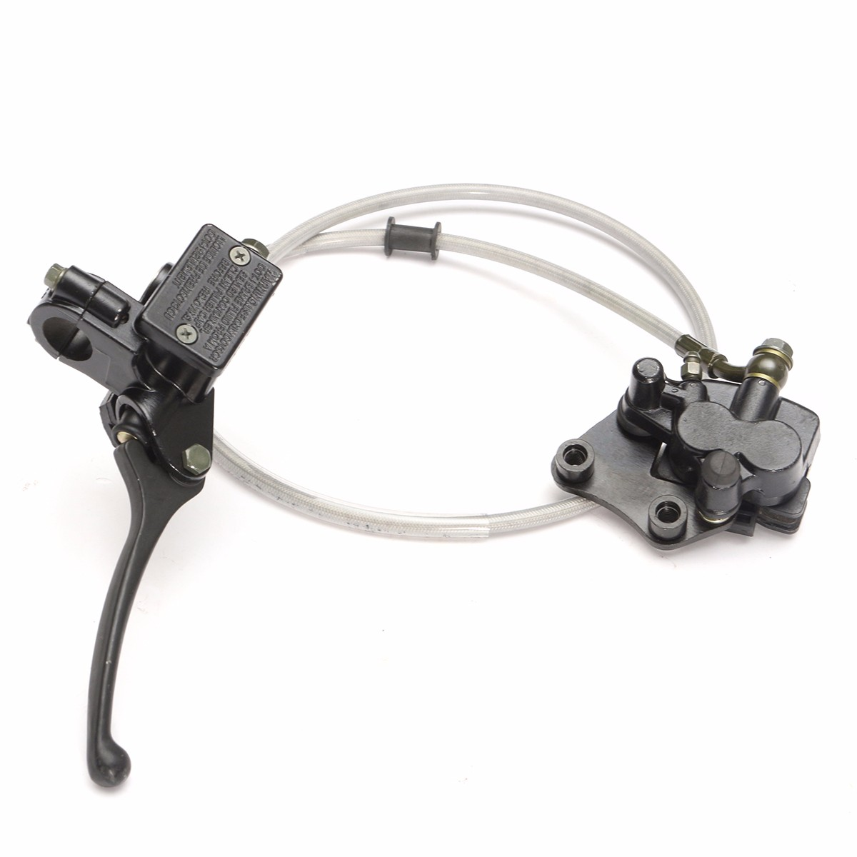 Pit Dirt Bike Front Hydraulic Brake Master Cylinder FOR 110cc 125cc 140cc CRF70 motorcycle rear hydraulic brake master cylinder pump for 50cc 70cc 110cc 125cc 150cc 250cc thumpstar atv pit pro dirt bike
