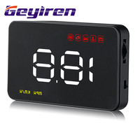 GEYIREN Head Up Display HUD Car Display Navigatior Car Vehicle Head up Display Projector Windshield Auto Electronic A100