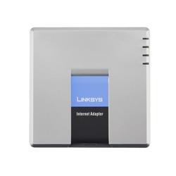 Envío rápido! Desbloqueado VoIP Linksys PAP2T. Adaptador del teléfono del Internet con dos puertos del teléfono de Voz IP Gateway PAP2T-NA