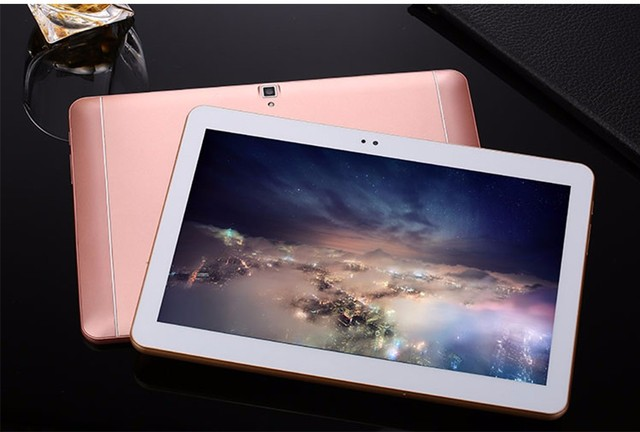 2017Metal Tablet PC 10 inch 4G LTE Octa Core Phablet Android 6.0 ROM 32GB 1280*800 Bluetooth GPS