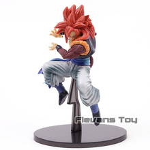 Dragon Ball Z SCultures Tenkaichi Super Saiyan 4 Gogeta GT Red Hair Ver. PVC Figure Collectible Model Toy
