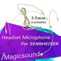 1PCS Pro Headset Headworn Condenser Microphone Earphone For Sennheiser 3.5 mm Screw Locking Plug Wireless Body-Pack Transmitter