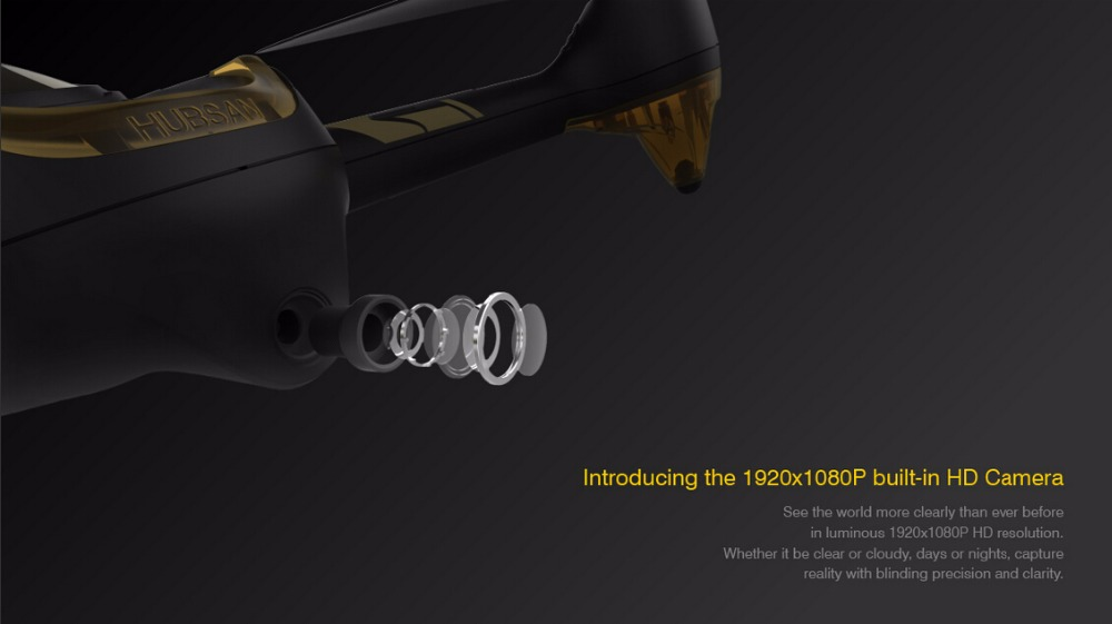 Hubsan H501A X4 Air Pro GPS RC Drone 1080P HD Camera RC Quadcopter 2.4G Wifi FPV Drone Phone Control Headless Mode